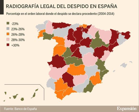 despido en España